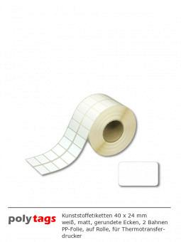 PE-Etiketten 4024 weiß