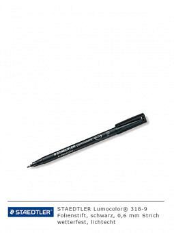 Folienschreiber 318-9, schwarz